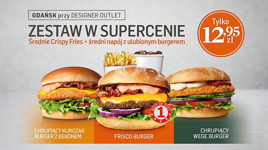 Max Premium Burger Gdańsk-Wojna cenowa