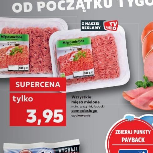 Mięso mielone w Kauflandzie [różne rodzaje] 500g