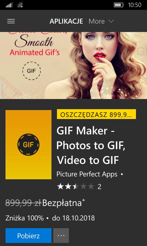 GIF Maker - Photos to GIF, Video to GIF -Windows Phone