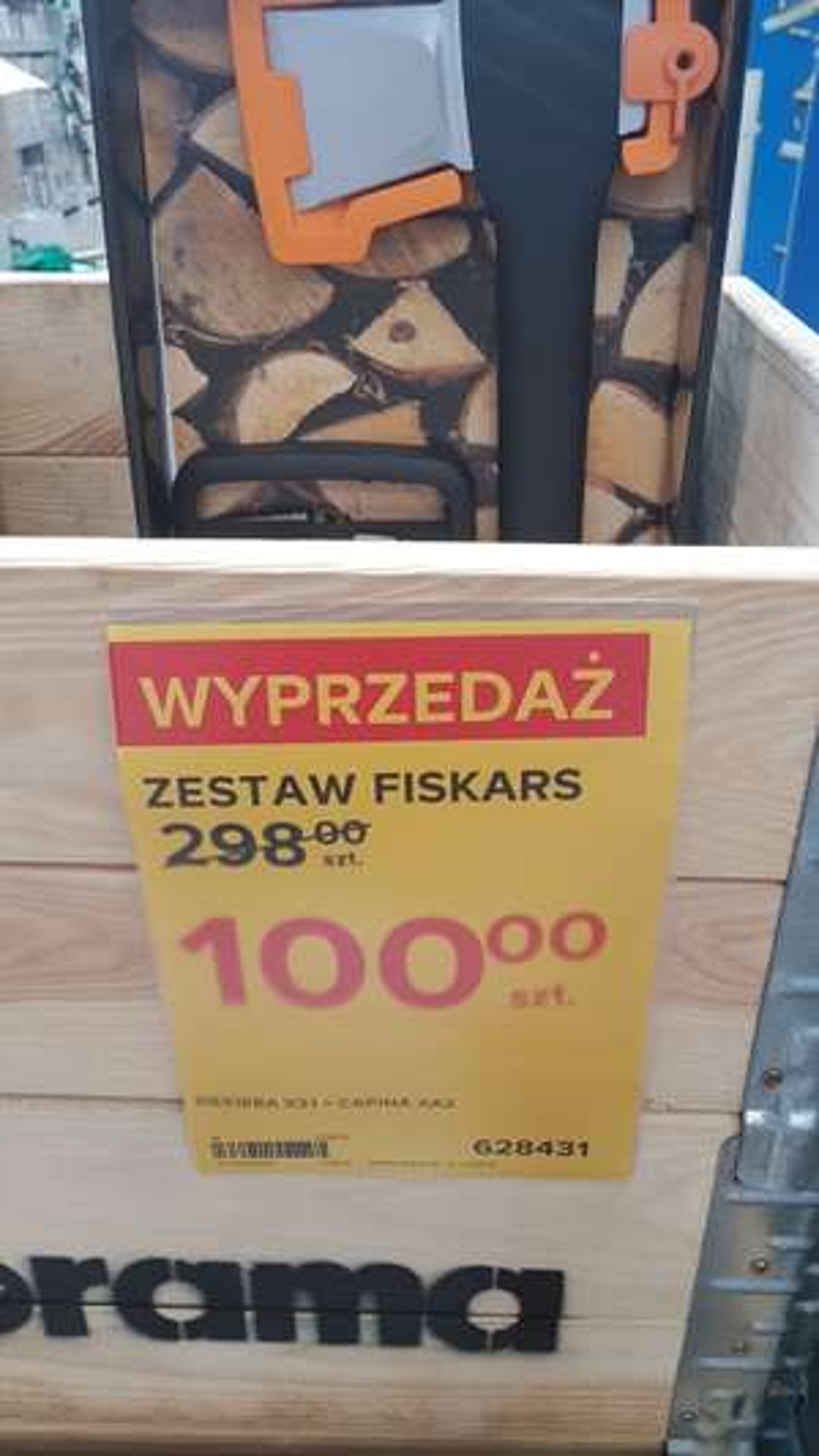 ZESTAW FISKARS SIEKIERA X21 + CAPINA Xa2 Castorama