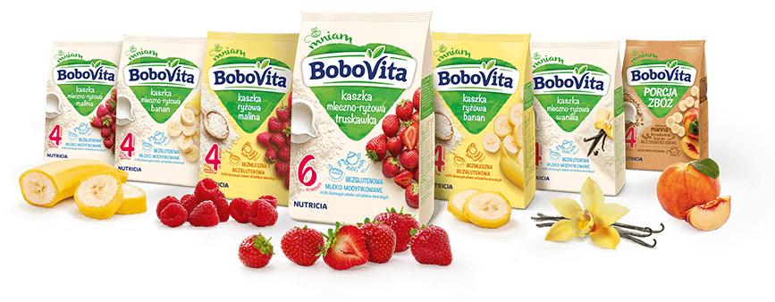 Przetestuj 1 z 7 kaszek Bobovita za darmo-zamawiamy