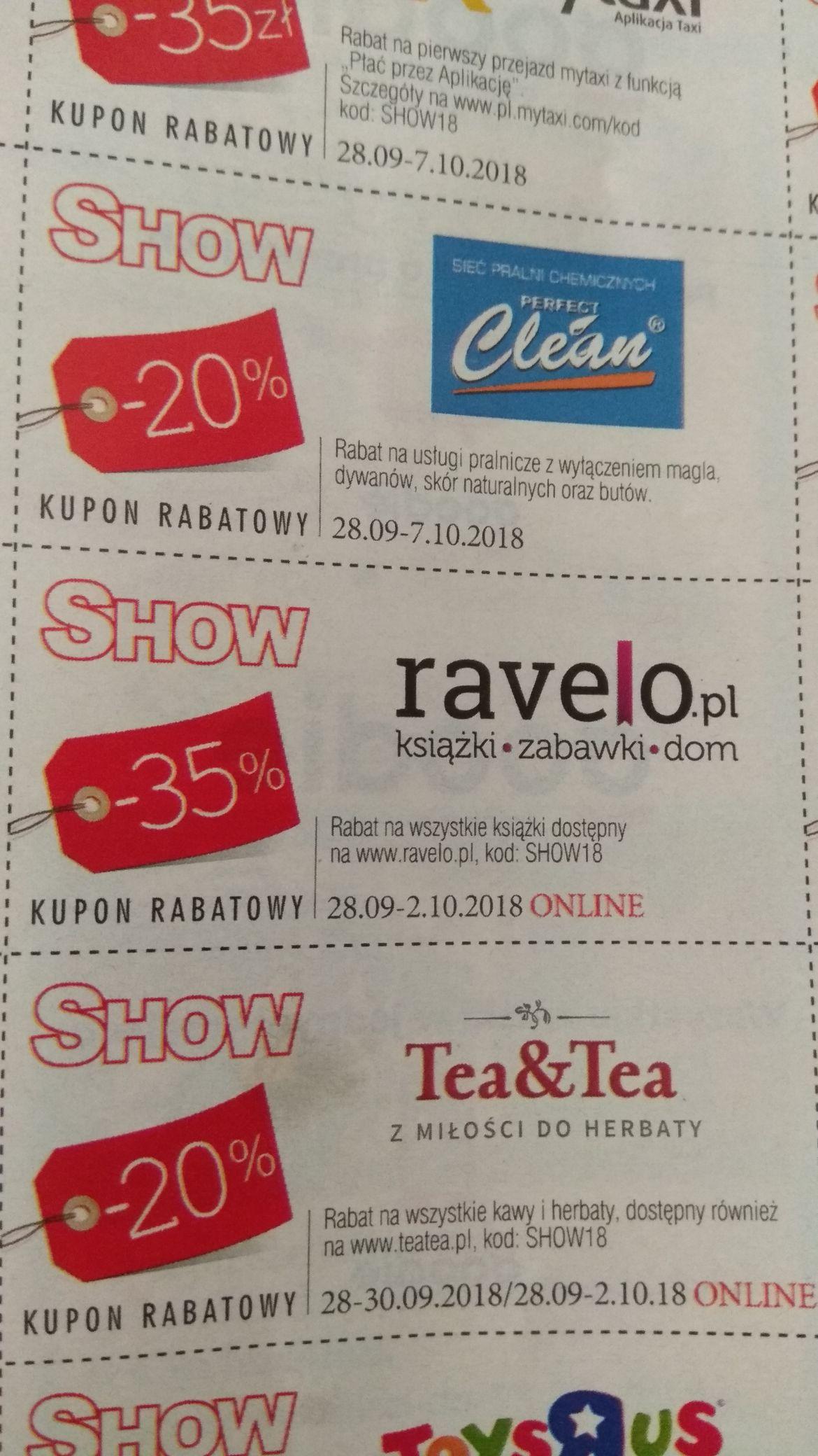 Ravelo masterpass -15zł + kod -35% na książki