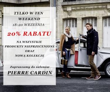 20% zniżki na zakupy @ Pierre Cardin