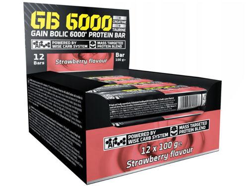 BATON OLIMP GB 6000 12 szt. x 100 g. KRÓTKA DATA