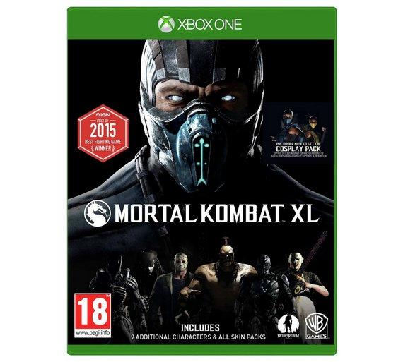 Mortal Kombat XL na XBOX ONE Microsoft USA