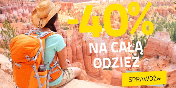 cała odzież 40% taniej @ Skalnik.pl