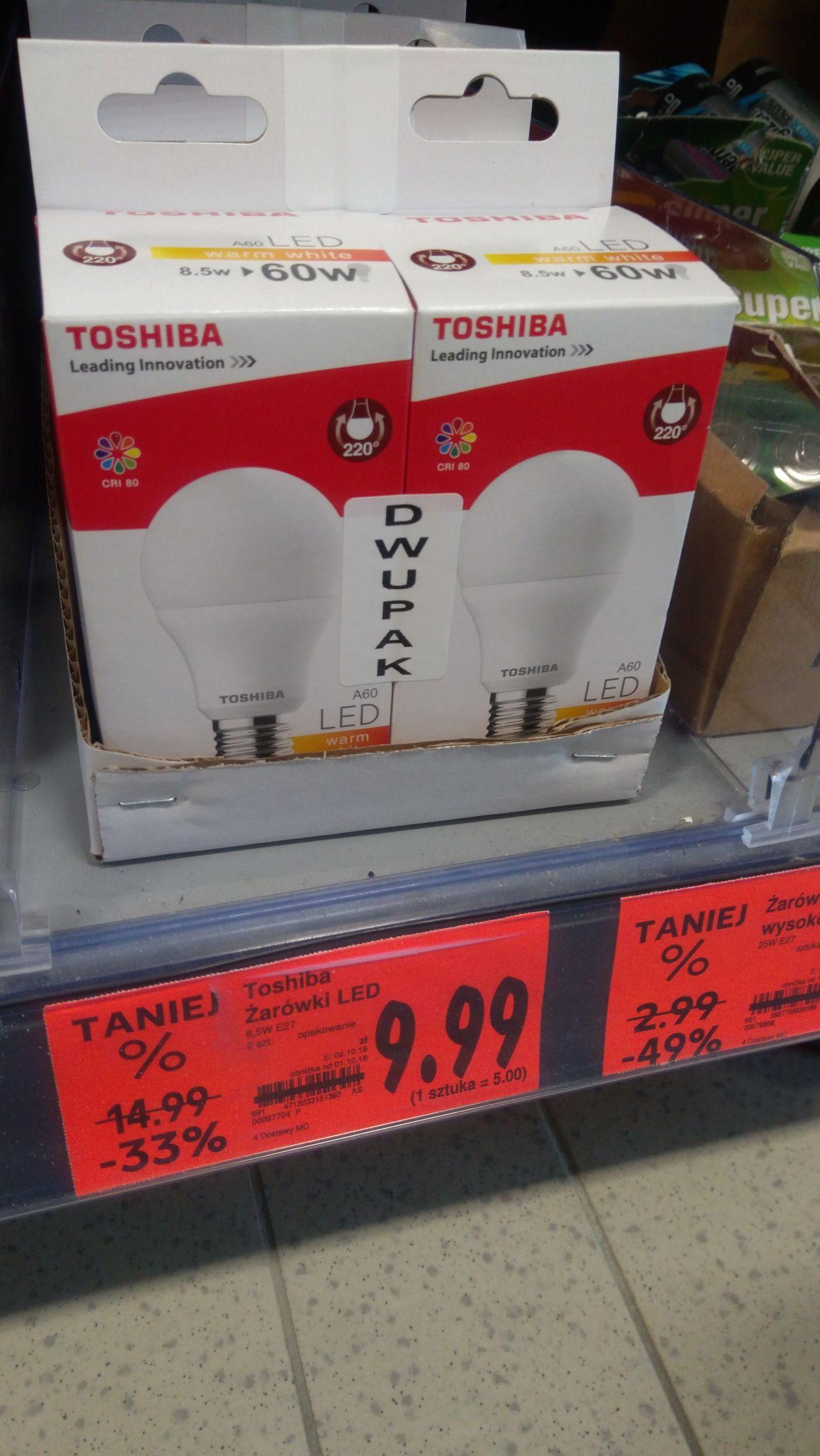 Kaufland - żarówki LED