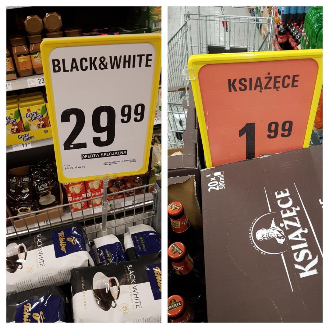 Kawa ziarnista Tchibo Black&White 1kg | Książece Pszeniczne, czerwony lager, ciemne łagodne @Netto