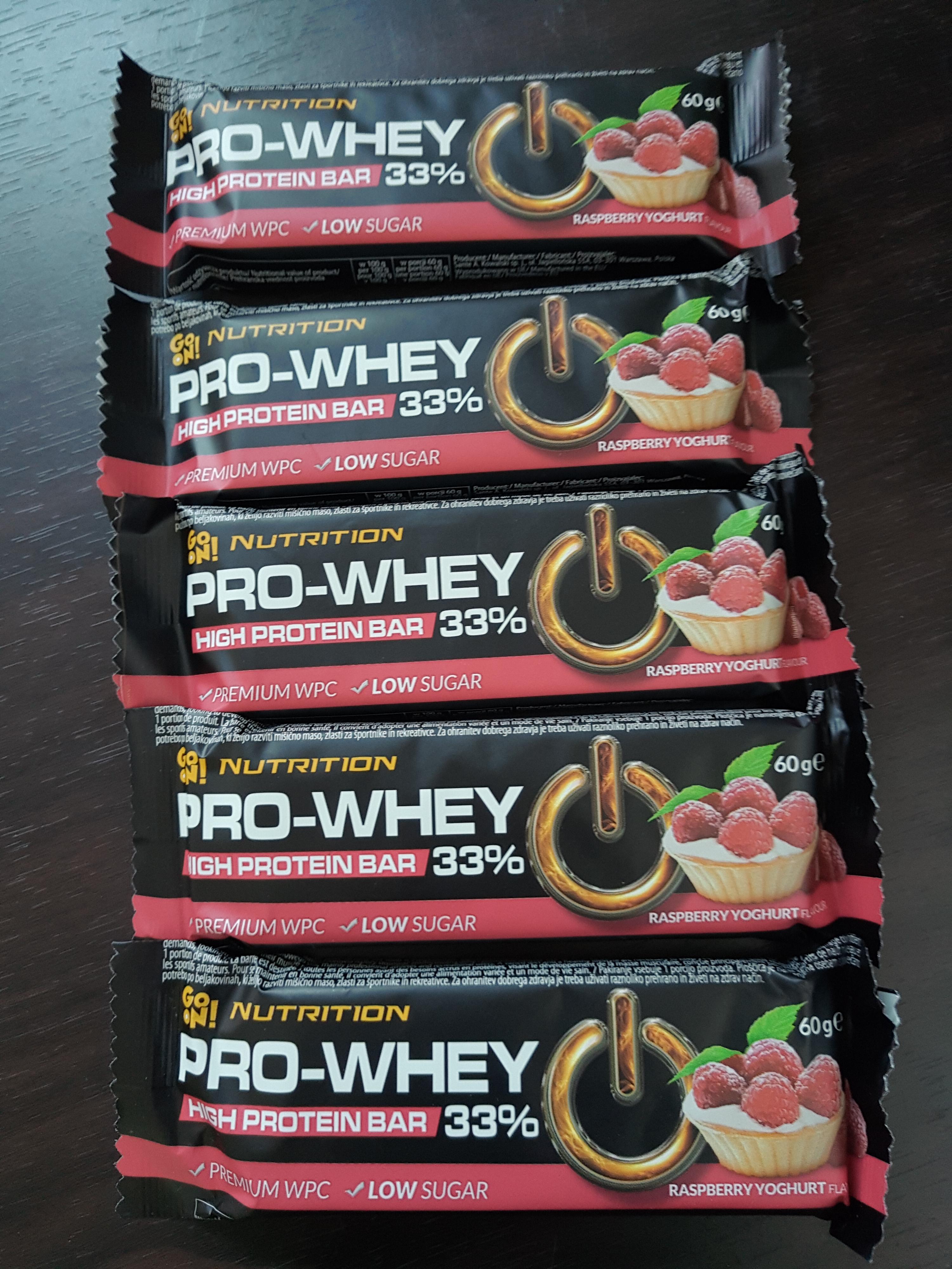 Baton proteinowy Pro Whey Nutrition 19,8g białka w batonie