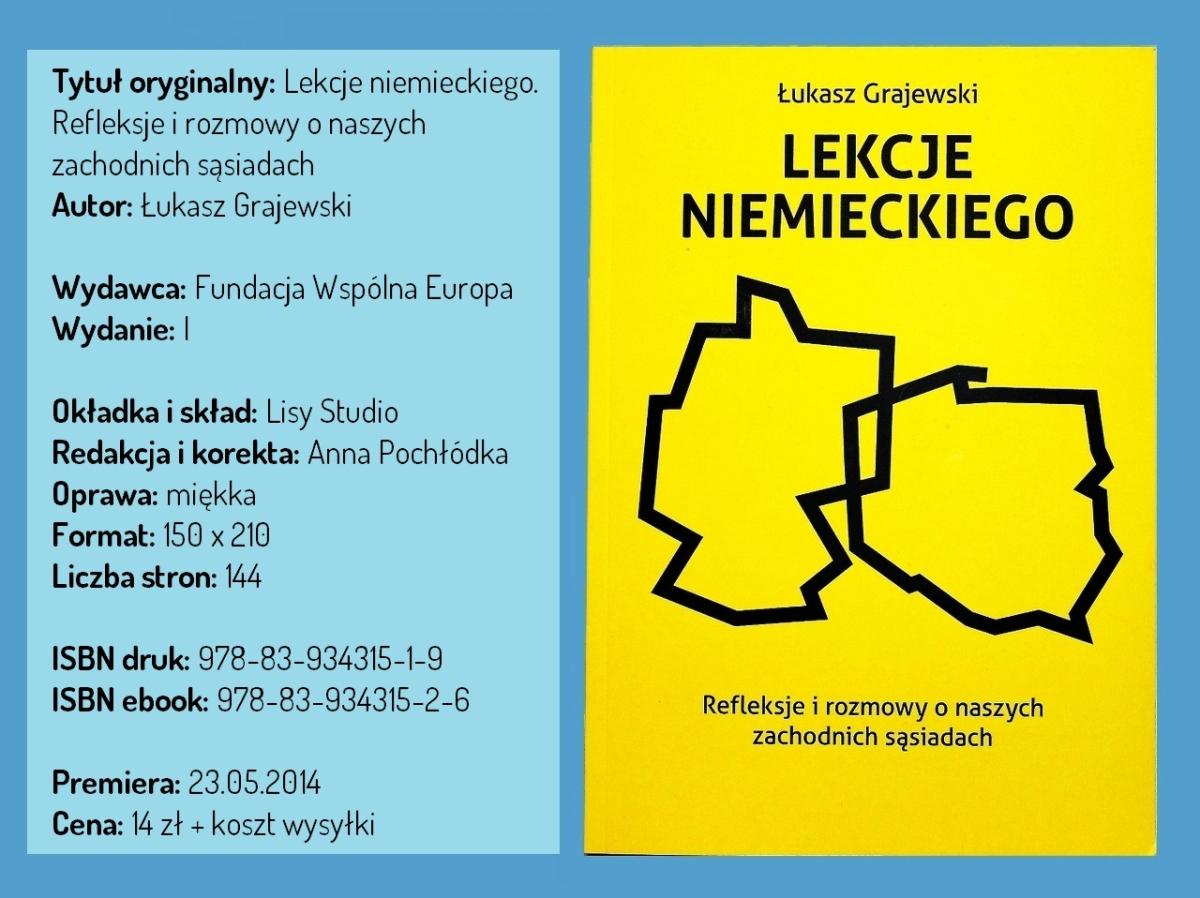 """[eBook] """"Lekcje Niemieckiego"""" - rozmowy nt. naszych sąsiadów ZA DARMO"""