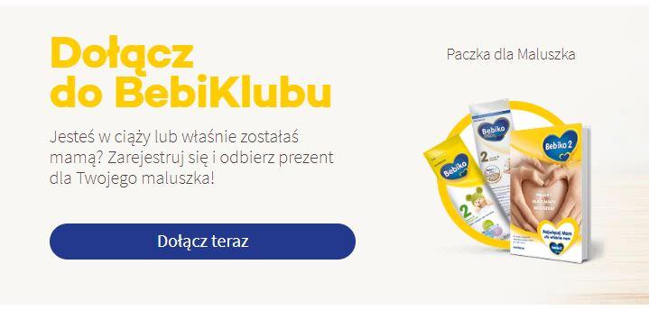 Darmowe próbki produktów dla dzieci i niemowląt od Bebiko