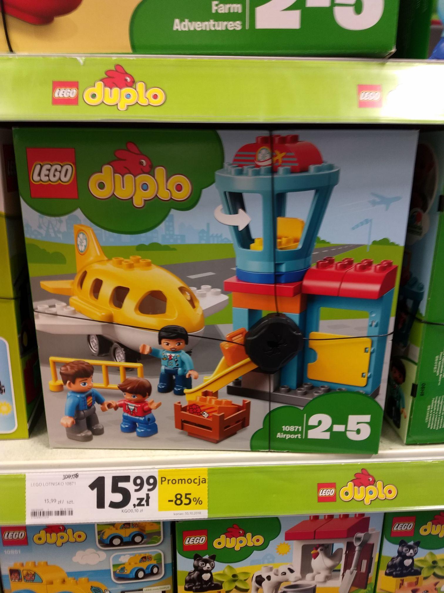 Wyprzedaż LEGO Duplo Tesco