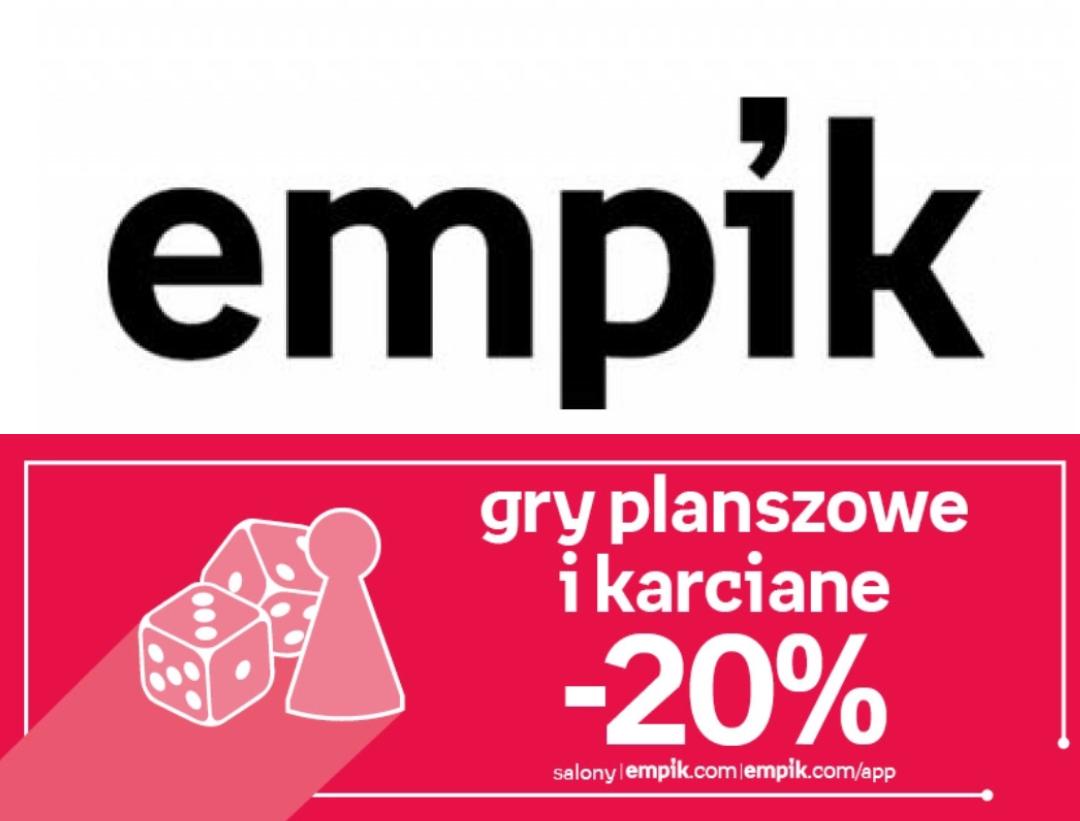 -20% na wybrane gry planszowe i karciane @Empik