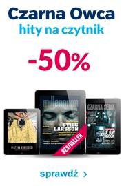 eBooki wydawnictwa Czarna Owca DZIŚ 50%  taniej @ Virtualo.pl