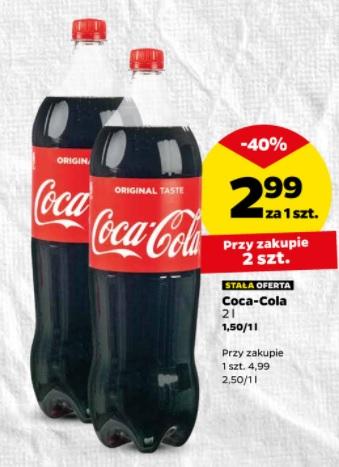 Netto:13.10 coca cola 2,99zl/2l przy zakupie 2szt.