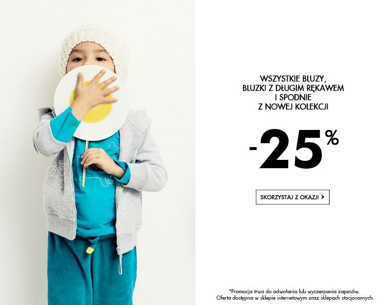 -25% na bluzy, bluzki i spodnie @ 5.10.15
