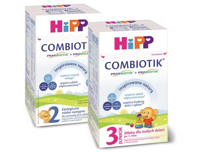 Mleko HIPP Combiotik 600g za 29,99zł (przy zakupie 2szt.) + promocja na słoiczki @ Lidl