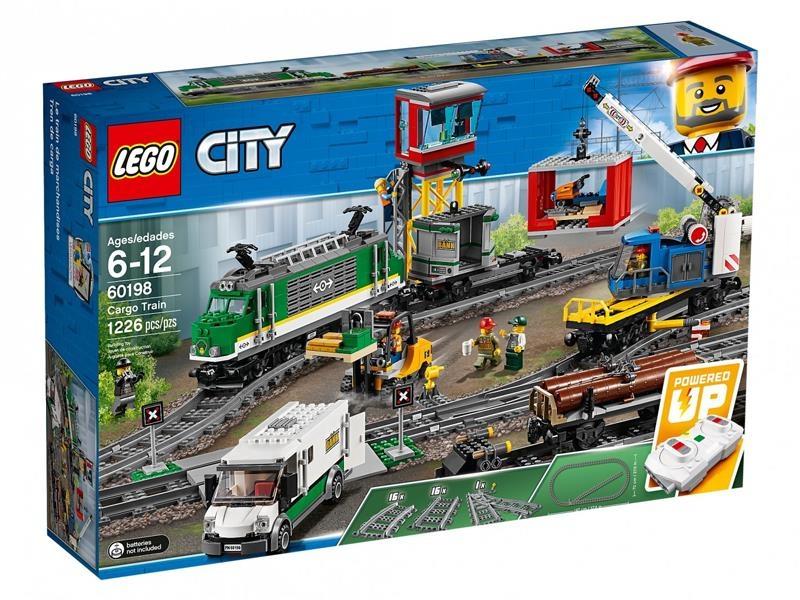 Pociągi LEGO z rabatem 15% (City - 60198, Duplo - 10875)