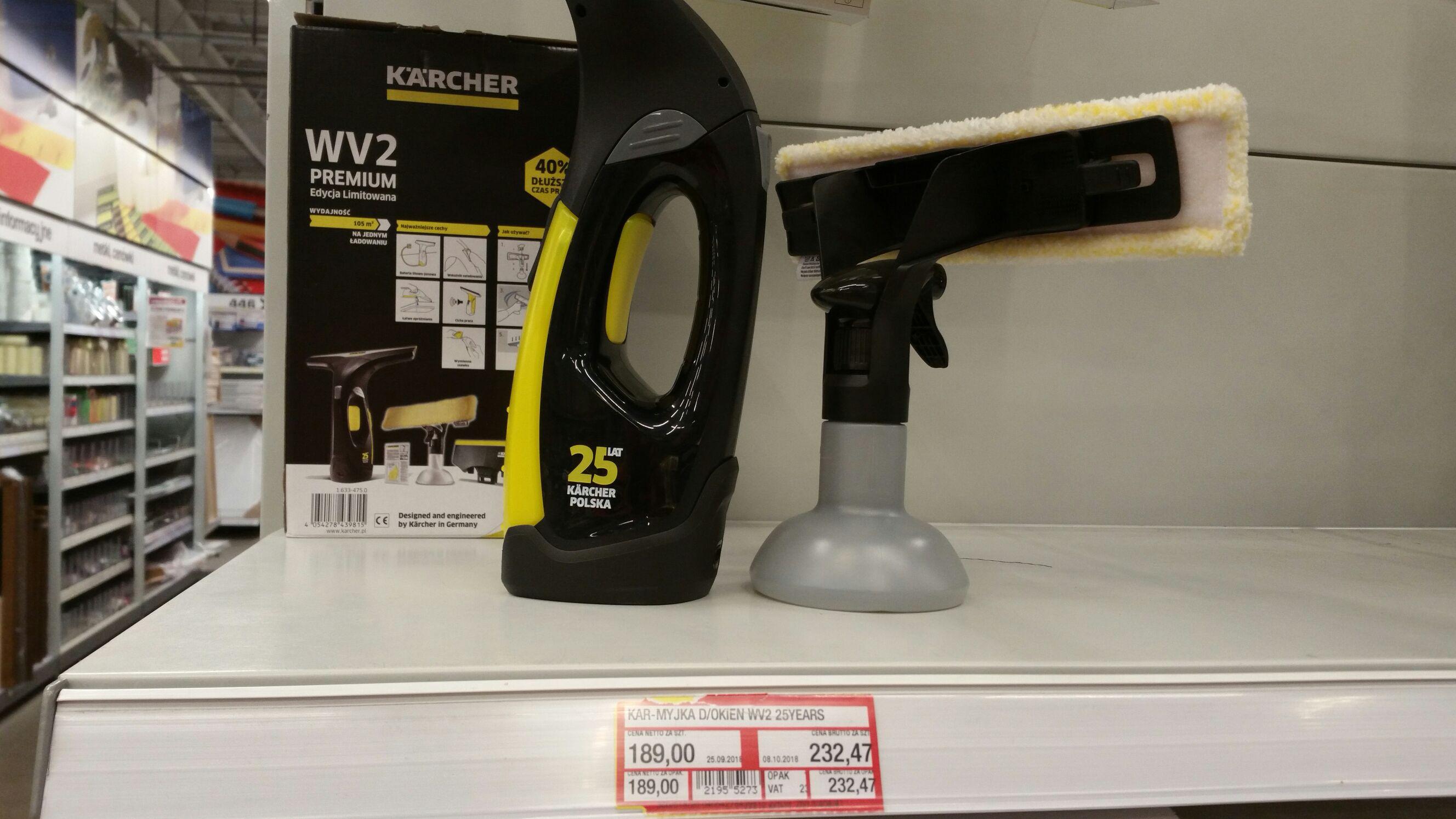 Myjka do szyb Karcher WV 2 Premium Edycja Limitowana @ Makro (Warszawa)