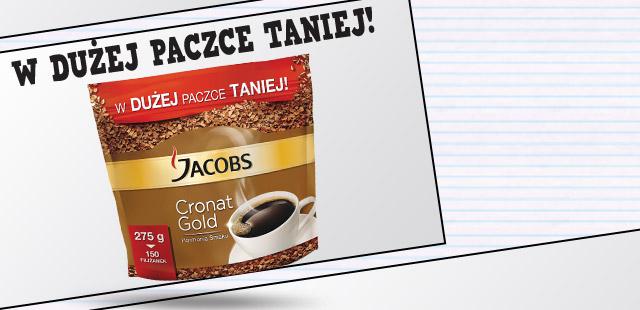 Kawa Jacobs Cronat Gold za 17,99zł / 275g @ Biedronka