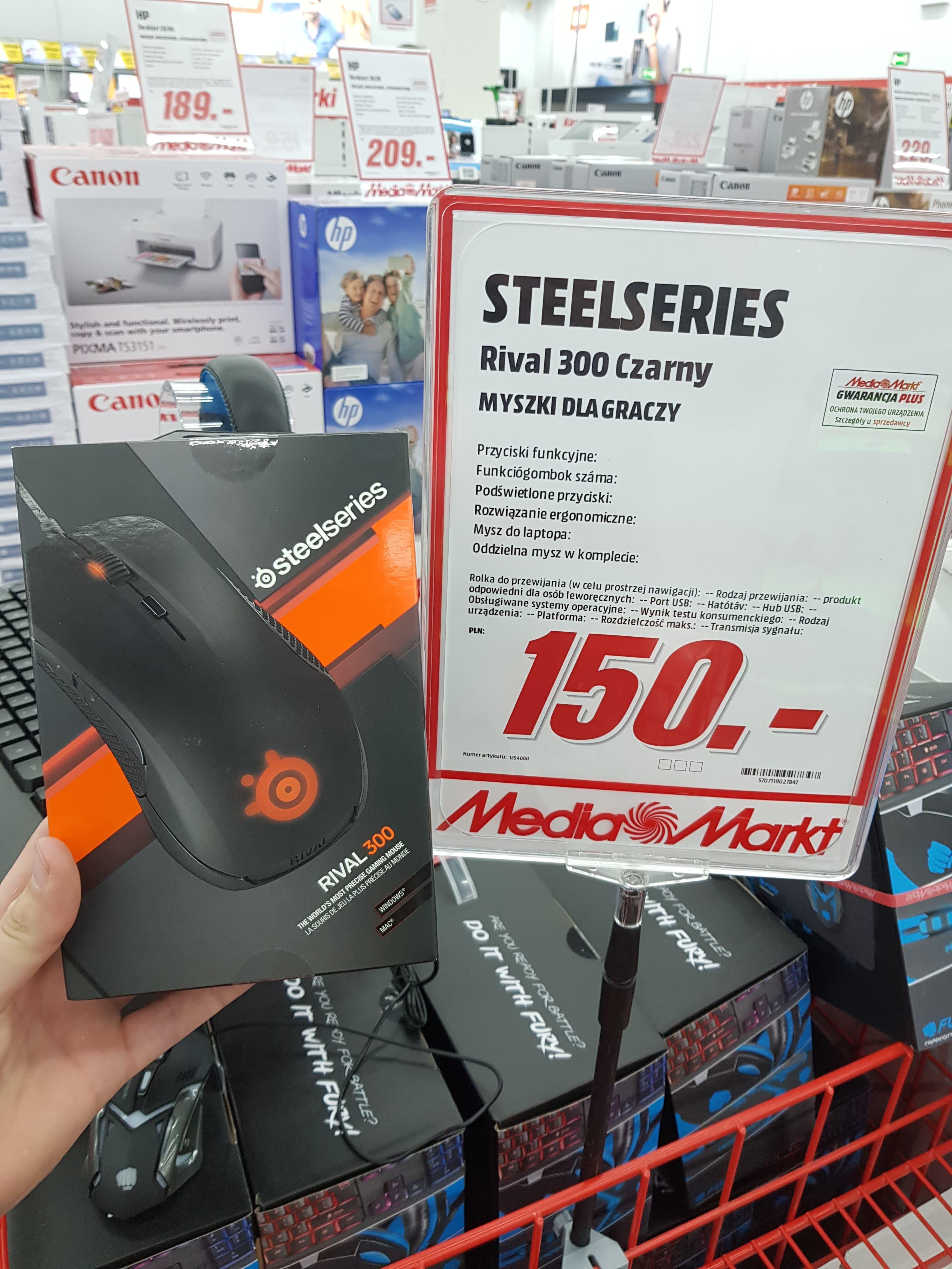 Mysz STEELSERIES Rival 300 za 150zł