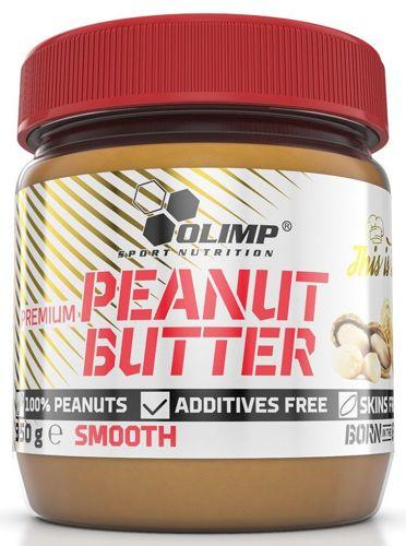 OLIMP Peanut Butter 350 g MASŁO ORZECHOWE SMOOTH