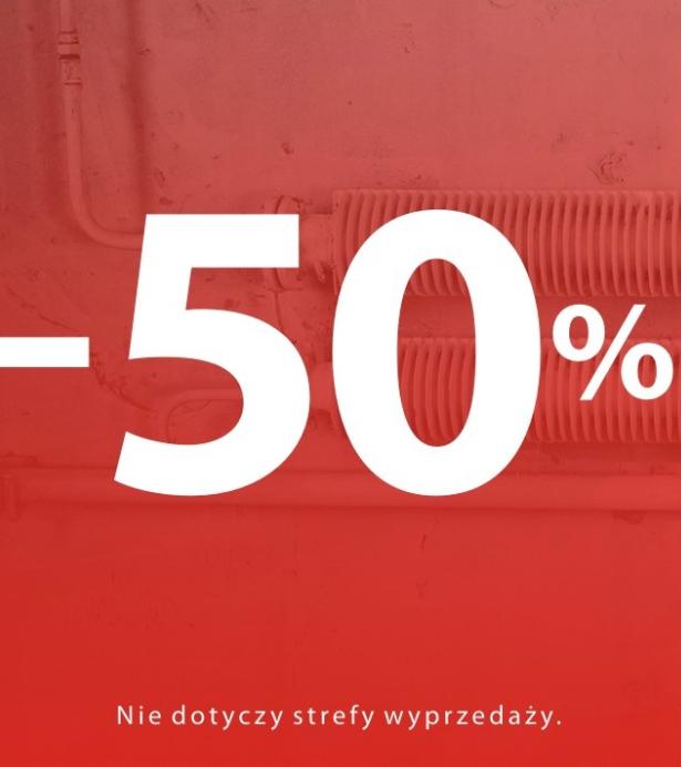 -50% na wszystko w sklepie Carry