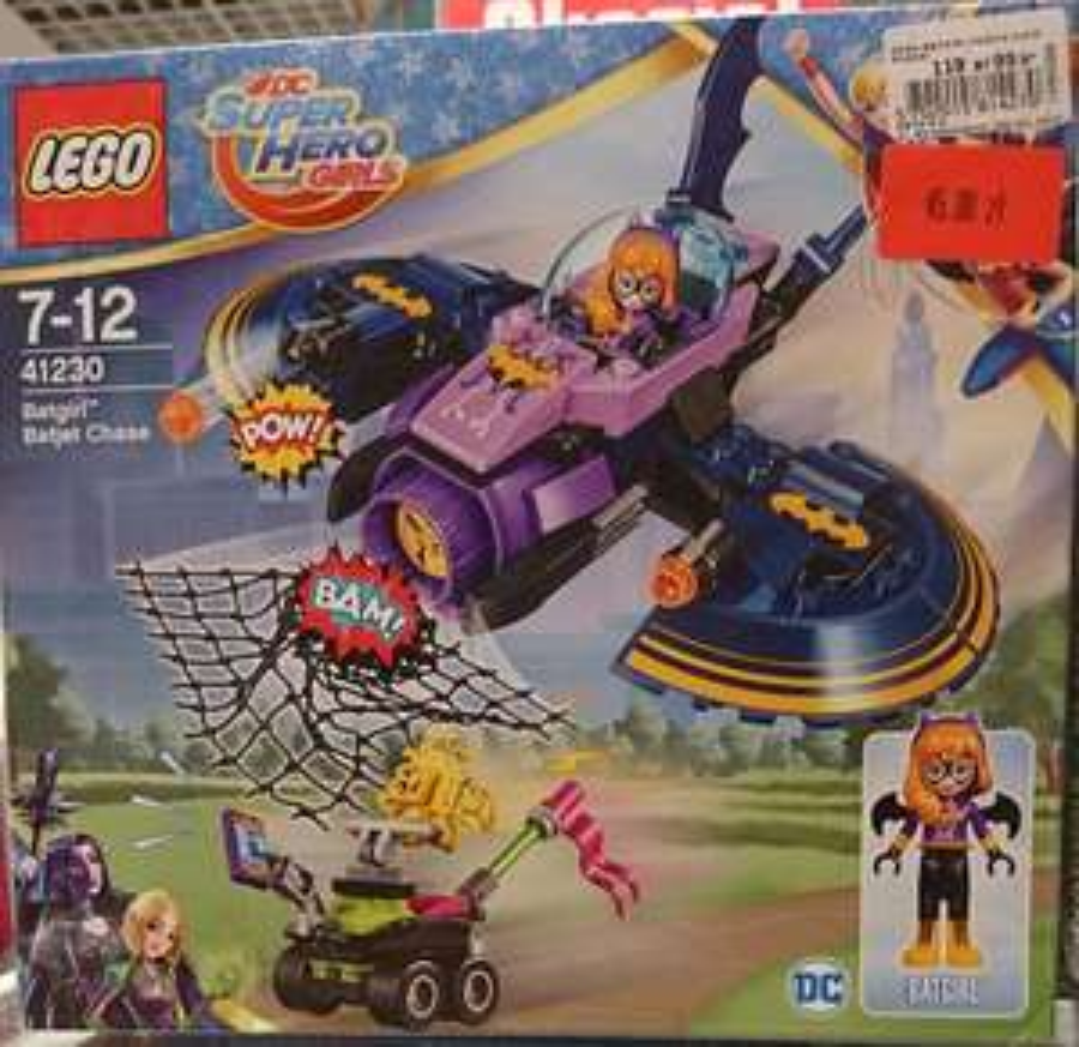 Lego Super Hero Girls Batgirl i pościg Batjetem (41230)