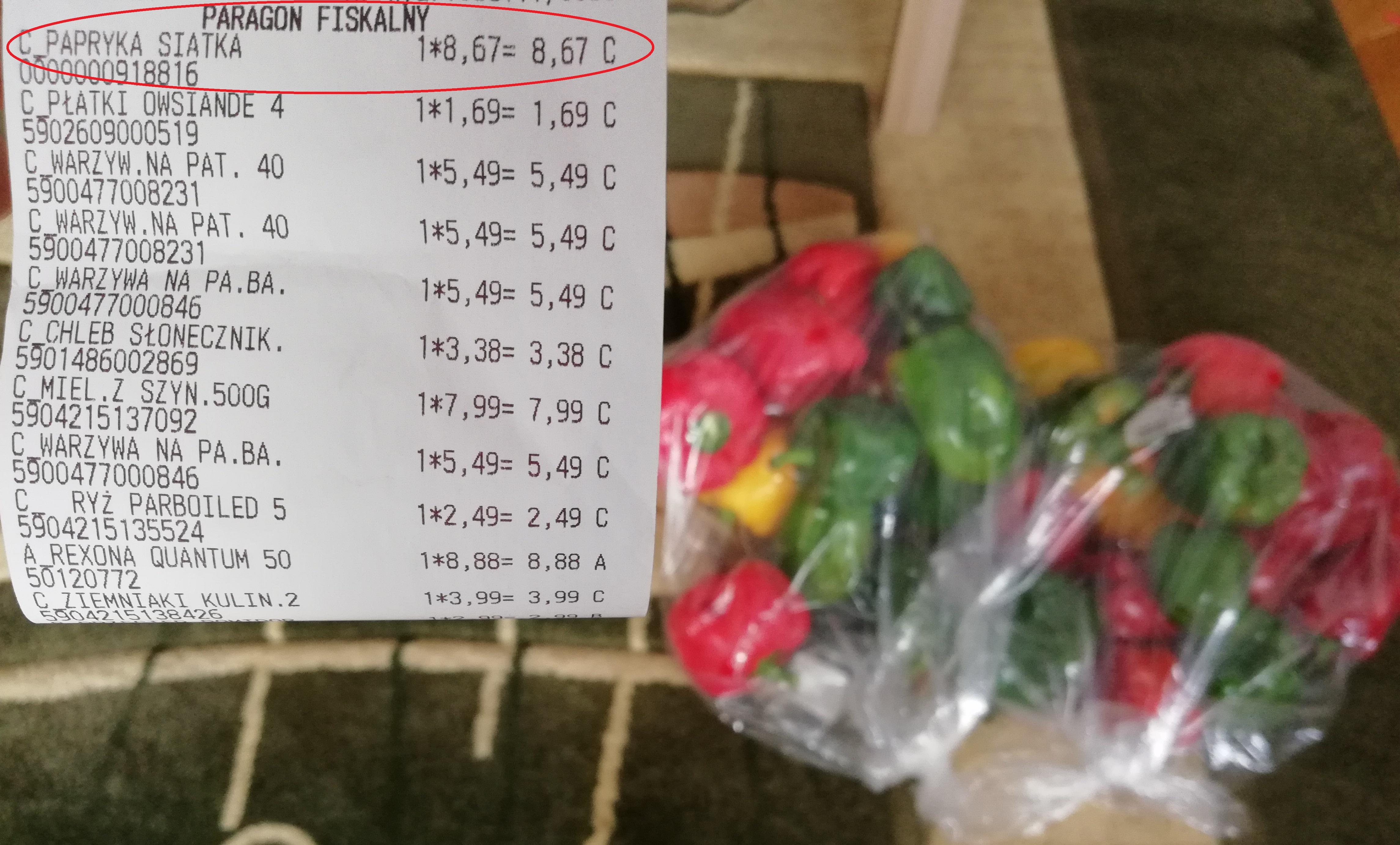 Papryka mix, 2x3kg w Simply Market
