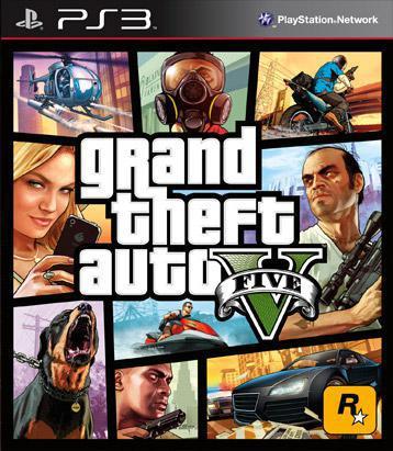 ROCKSTAR Grand Theft Auto V PS3 PlayStation 3 (neonet)