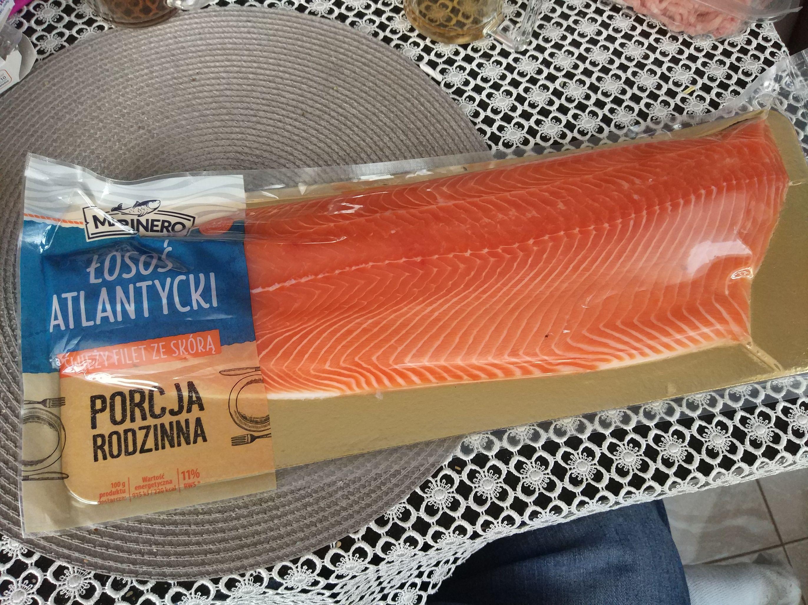 Łosoś Atlantycki filet 44.90zł/kg