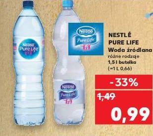 Woda źródlana Nestle Pure Life 1,5L @Kaufland