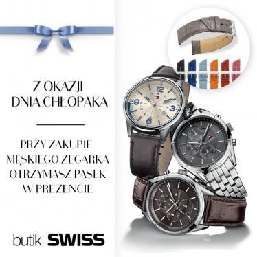 Przy zakupie zegarka, pasek GRATIS @ Swiss