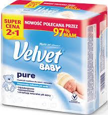 Velvet Baby Pure 3x64szt w Kauflandzie 0,05zł/szt