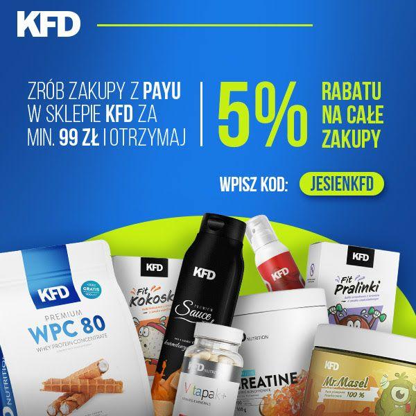 5% rabatu na zakupy w KFD