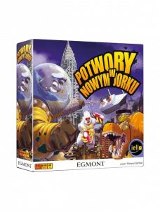 Potwory w Nowym Jorku dobra gra planszowa