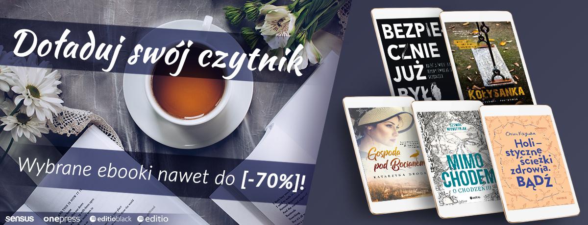 Ebooki (nie tylko) dla Pań do 70% taniej @ Editio