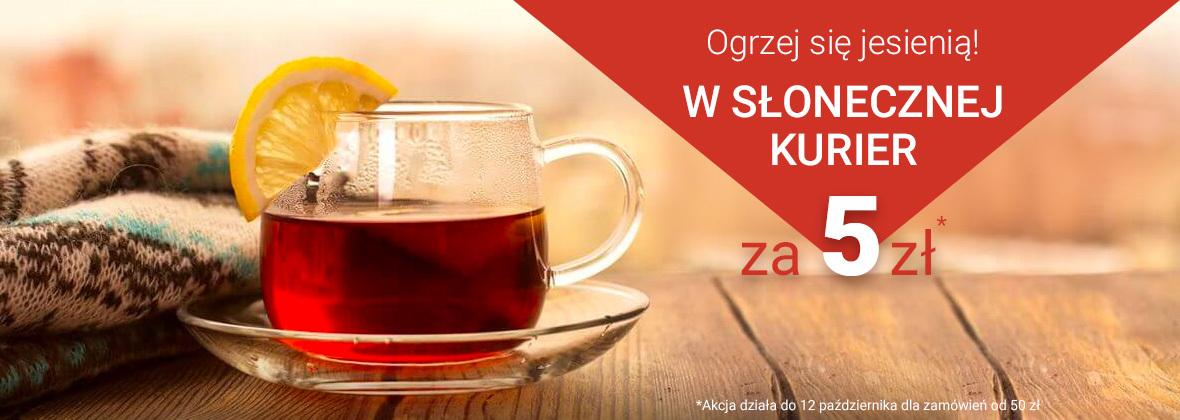 Apteka Słoneczna Kurier za 5 zł przy zamówieniu od 50 zł  do 12.10.2018