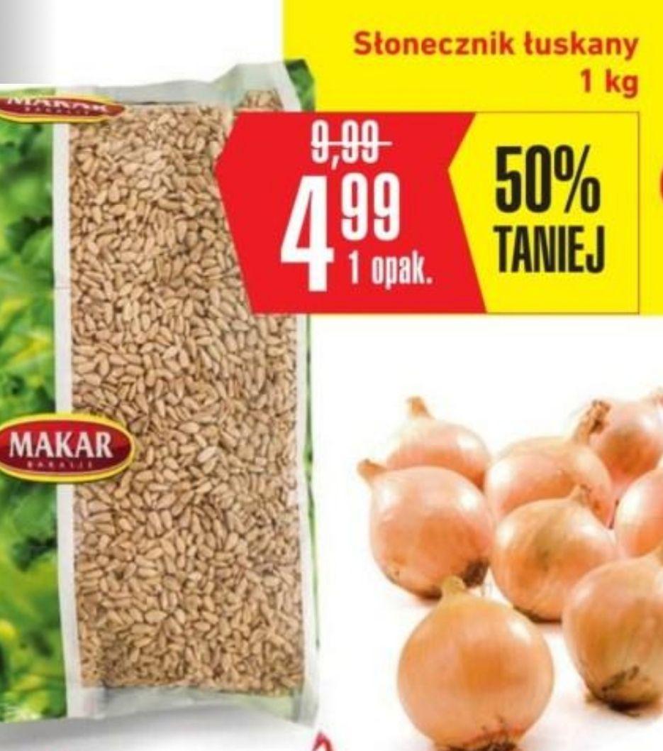 Słonecznik łuskany 1kg za 4.99, Intermarche