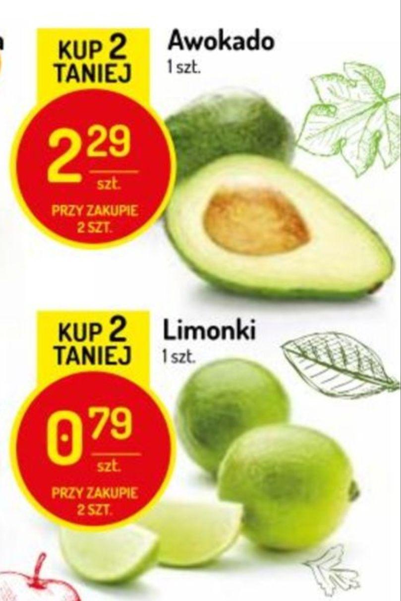 Avocado 2.29zł, Limonka 0.79zł @Delikatesy Centrum