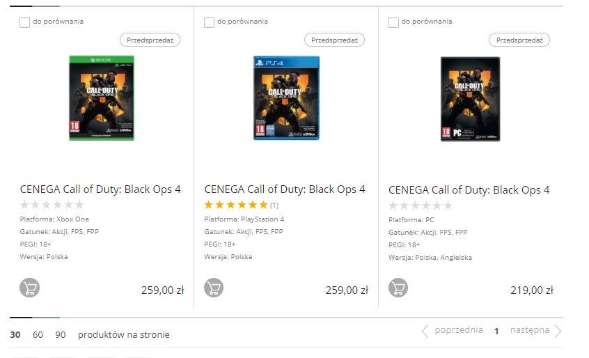 Kup Call of Duty: Black Ops  otrzymasz voucher -100zł w Combat.pl