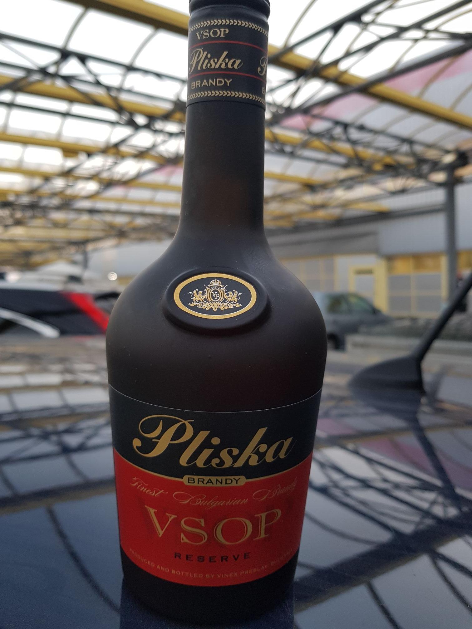 Selgros Brandy Pliska 40% 0.5