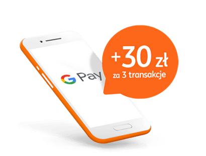 ING - 30 zł za płatność G-Pay