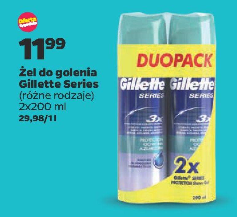 Żel Gillette Series 2×200 ml @netto