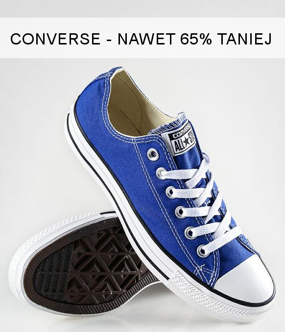 Buty Converse w promocji do -65%!
