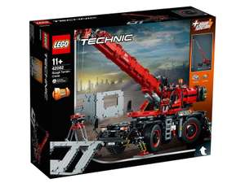 LEGO Technic - Dźwig 42082 - Rabaty 15% na LEGO Technic i 20% na LEGO Friends