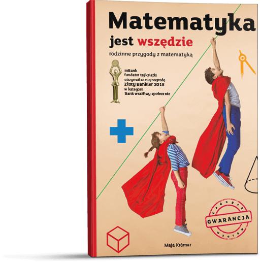 Matematyka jest wszędzie –  pdf lub e-book od mBanku