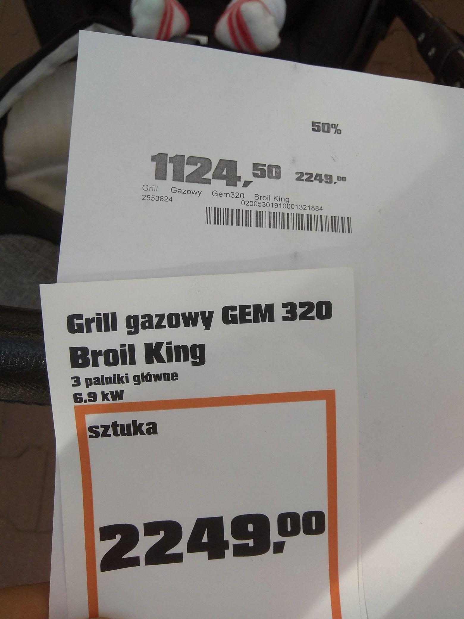 Obi Gdańsk , Grille z wystawy -50%