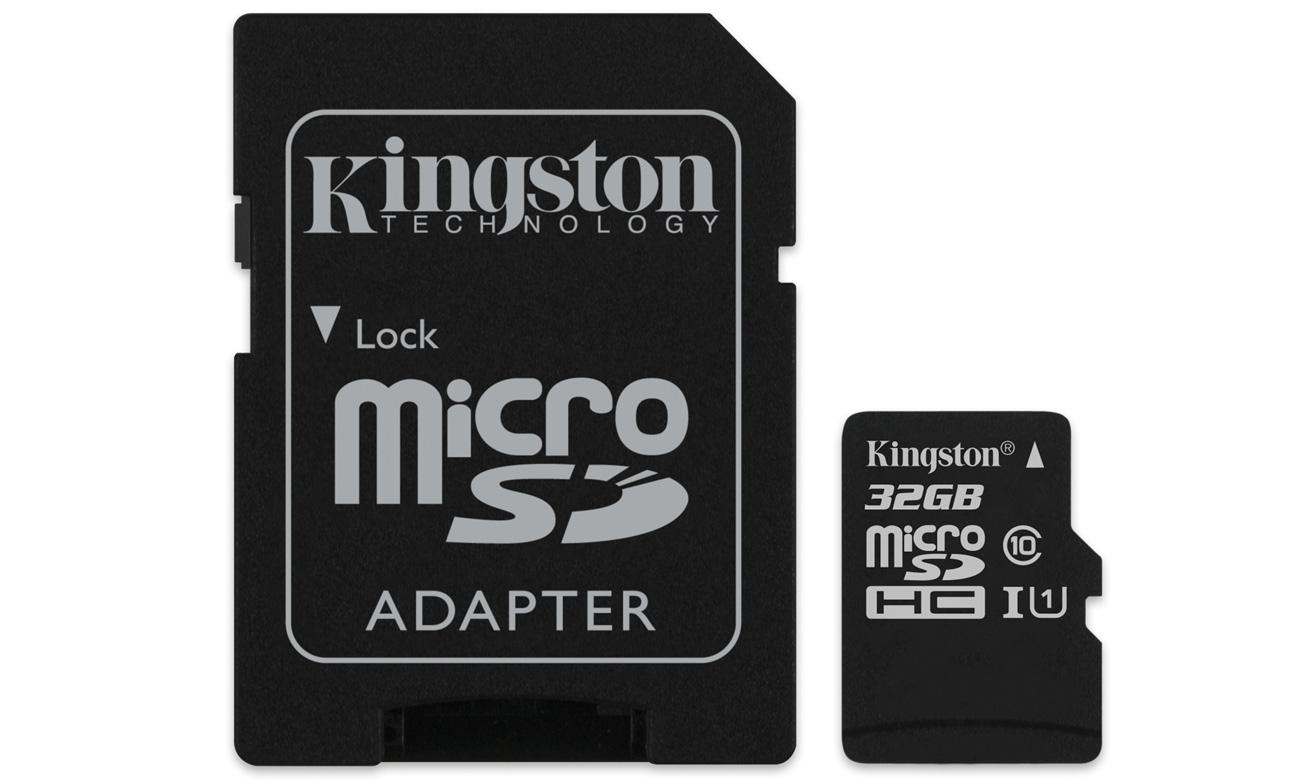 Kingston 32 GB microSD z adapterem w gorącym strzale X-Kom