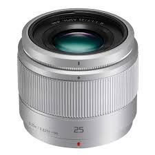 Obiektyw micro4/3 Panasonic 25mm f1, 7